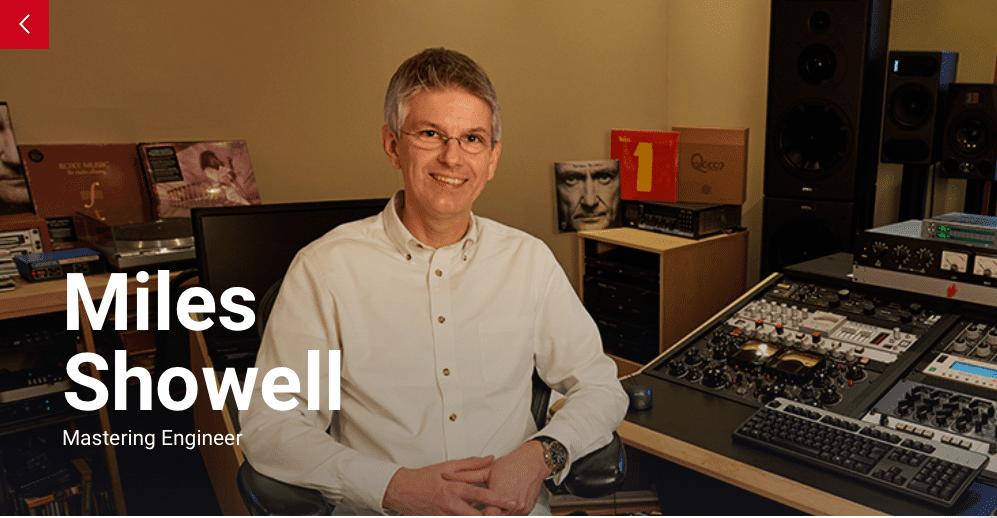 Miles Showell Abbey Road Studios